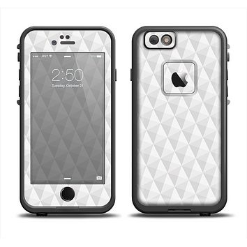 The White Studded Seamless Pattern Apple iPhone 6 LifeProof Fre Case Skin Set