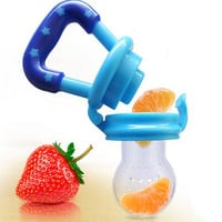 1 PCS New Kids Nipple Fresh Food Milk Nibbler Feeder Feeding Safe Baby Supplies Nipple Teat Pacifier Bottles