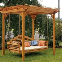 Furniture Traditional English Cedar Swing Bed