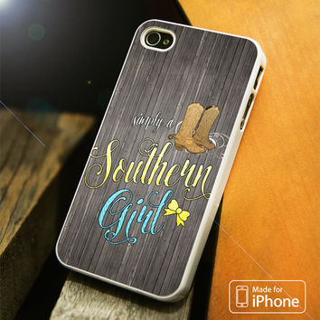 Southern Girl iPhone 4S/5S/5C/SE/6S Plus Case