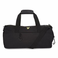 Lyle & Scott Barrel Bag in Black