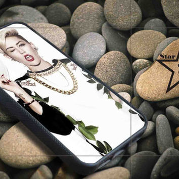miley cyrus heat iPhone Case, iPhone 4/4S, 5/5S, 5c, Samsung S3, S4 Case, Hard Plastic and Rubber Case By Dsign Star 08