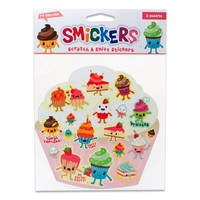 Scratch and Sniff Cupcake Stickers