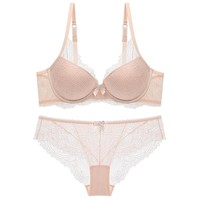 Ladies Bra Set Sexy Lace Underwear [296078278697]