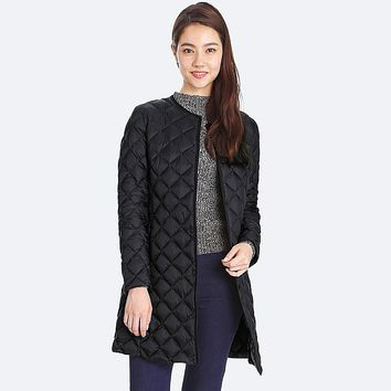 Women Ultra Light Down Compact Coat