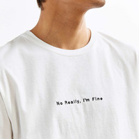 Wildroot Im Fine Tee - Urban Outfitters