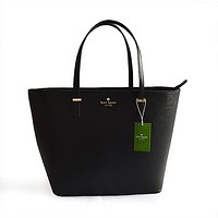 KATE SPADE Women Shopping Leather Handbag Tote Satchel H-YJBD-2H-9
