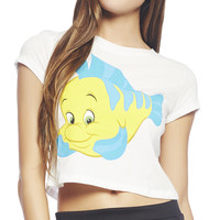 The Little Mermaid™ Flounder™ Tank | Wet Seal