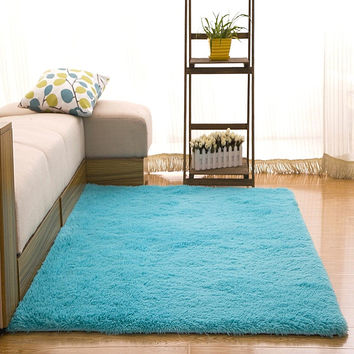 shaggy carpets and rugs Mechanical wash 70*140cm/27.55*55.11in