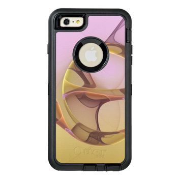Abstract Motions Modern Fractal Art OtterBox Defender iPhone Case