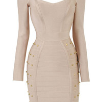 Oh My Love Long Sleeve Bandage Dress