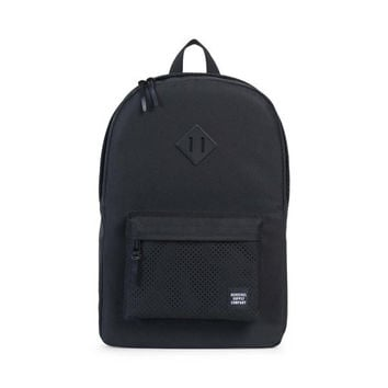 HERSCHEL SUPPLY CO HERITAGE BACKPACK - BLACK