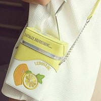 Retro Lemonade Purse - Fully Adjustable