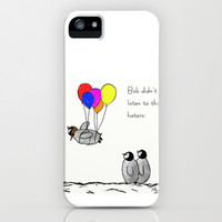To be a Flying Penguin iPhone & iPod Case by Trinity Bennett