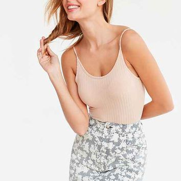 BDG River Floral Denim Mini Skirt