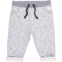 River Island Mini boys blue joggers