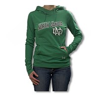University of North Dakota Under Armour Ladies French Terry Pullover Hood - REA Sioux Shop