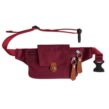 Kids tiny bum bag violet red /fanny pack/Belt bag/waist bag/crossbody bag/festival bum bags/festival fanny pack/travel bags/BUY 3 FREE 1
