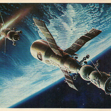Another Expedition (Artist A. Sokolov) Vintage Postcard - Printed in the USSR, «The Fine Arts», Moscow, 1980