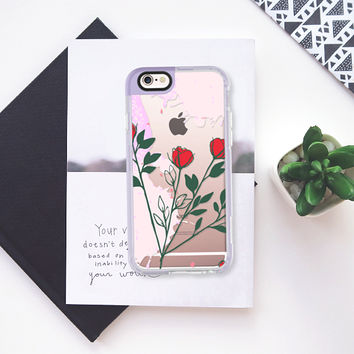 Red rose iPhone 6s case by Famenxt | Casetify