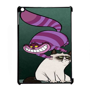 grumpy cat and cat cheshire for iPad Air CASE *RA*
