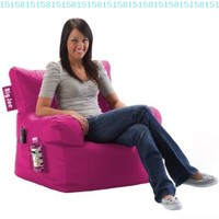 Big Joe Dorm Chair, Pink-ini