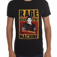 Rage Against The Machine EVIL EMPIRE Black T-Shirt NWT Authentic & Official