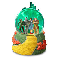 Emerald City 4 Character Lighted Musical Water Globe
