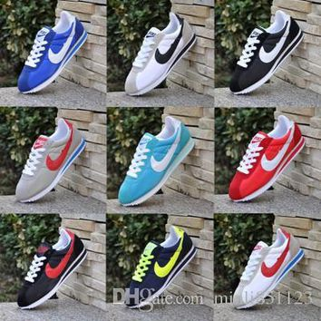 Sales! 2016 Nike classic yin and yang men and women autumn and autumn casual sports shoes racing shoes Cortez shoes leisure sports network 36-47