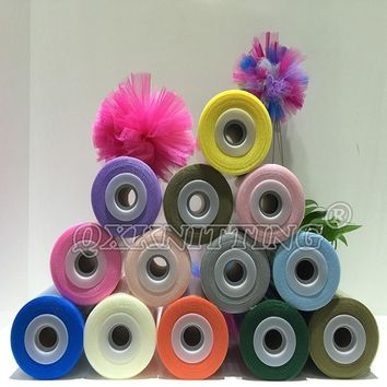 40 Colors Available 100% Nylon Tulle Spool Roll 100 Yards