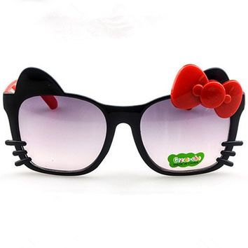 Kids Cute Kitty Sunglasses with a bow