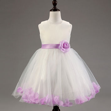 Kids Girls Baby Dress Products For Children = 4457523908