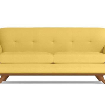 Carson Loveseat in GOLD - CLEARANCE