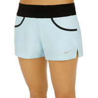 Nike Victory Short Women glacier ice/black/matte silver | buy online at Tennis-Point.com