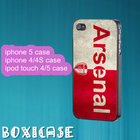 Arsenal--iphone 4 case,iphone 5 case,ipod touch 4 case,ipod touch 5 case,in plastic,silicone,cute iphone 5 case,pretty iphone 5 case.