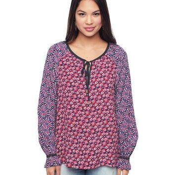 Factory Girl Ditsy Daisy Combo Factory Girl Ditsy Peasant Top by Juicy Couture,