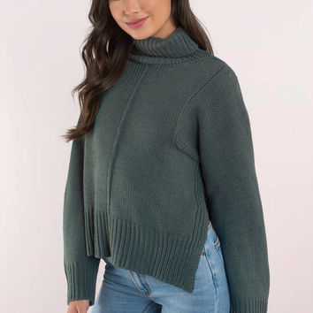 Lucca Couture Tracy Long Sleeve Sweater