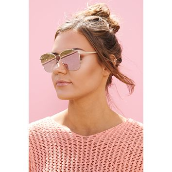 Remy Sunglasses (Gold/Lavender)