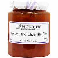 Epicurien Apricot and Lavender Jam 11.6 oz