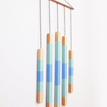 Geometric Wall Hanging / Mobile Art Object Home Decor