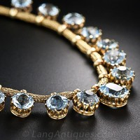 Antique Aquamarine Necklace - 90-1-4551 - Lang Antiques