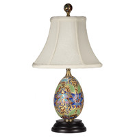 Cloisonne Colorful Metal Lamp
