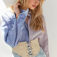 Leather Corset Belt | Urban Outfitters