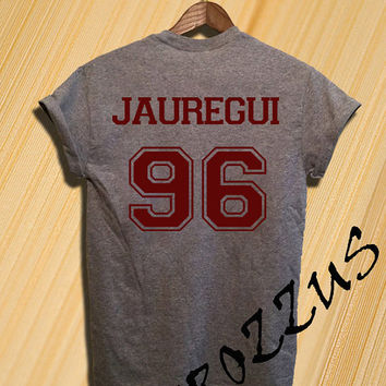 Lauren Jauregui Shirt Fifth Harmony Shirts Tshirt T-shirt Tee Shirt Black and Grey Unisex Size
