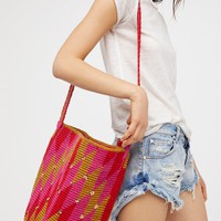 Free People Azul Crochet Bag