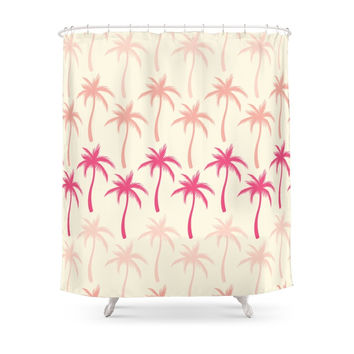 Society6 Palm Trees #2 Shower Curtain