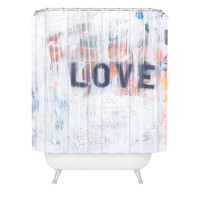 Kent Youngstrom Love Hurts Shower Curtain