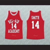 The Fresh Prince Will Smith Bel-Air Academy Basketball Jersey