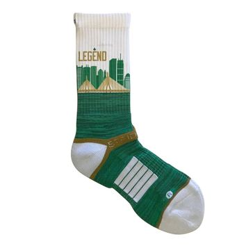 Strideline® 2.0 Boston Celtics Legend City Line - Crew Socks