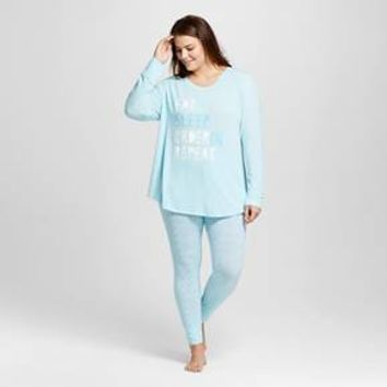 Women's Pajama Sets Turquoise Whisper - Xhilaration™